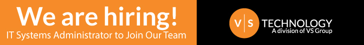 VS Group - We are hiring a Systems Technician to join our team!