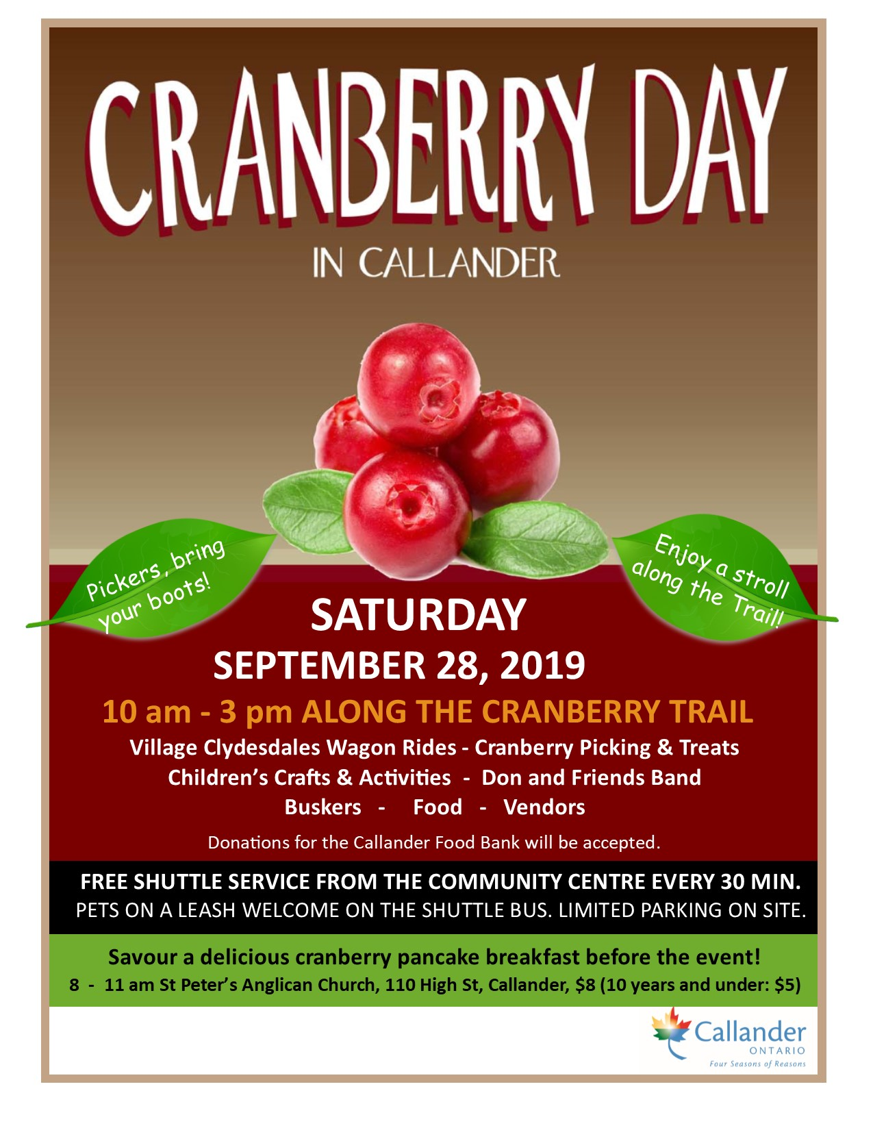 Cranberry Day in Callander