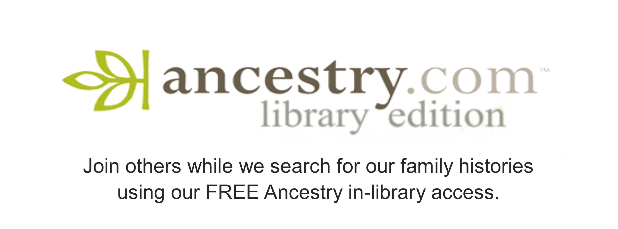 Ancestry at the Callander Public Library