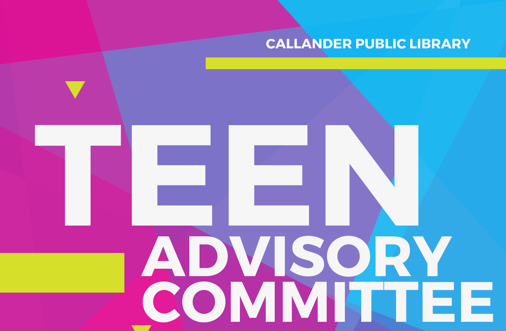 Teen Advisory Committee at the Callander Public Library